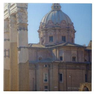 View of Santi Luca e Martina Ceramic Tile