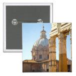 View of Santi Luca e Martina in the Roman Forum Button