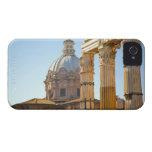 View of Santi Luca e Martina in the Roman Forum iPhone 4 Case-Mate Cases