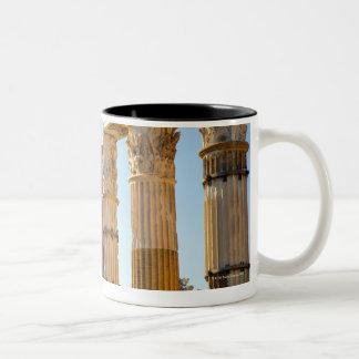 View of Santi Luca e Martina in the Roman Forum Two-Tone Coffee Mug