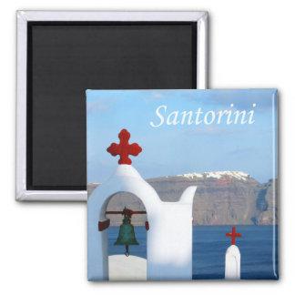 View of Santorini Magnet