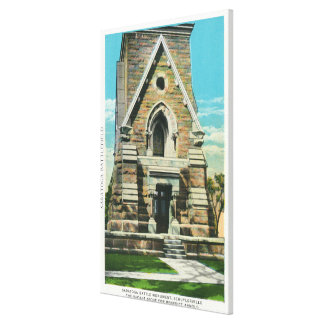 View of Saratoga Battle Monument Canvas Print