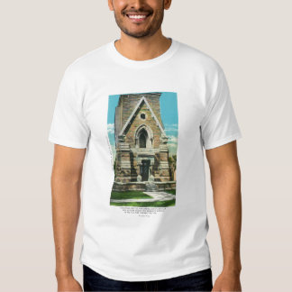 View of Saratoga Battle Monument Tee Shirt