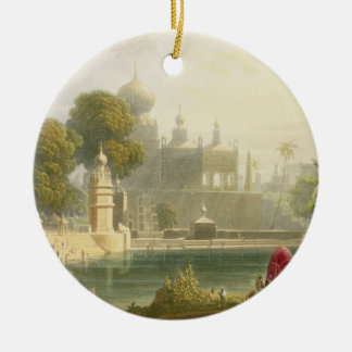 View of Sassoor in the Deccan, from Volume II of ' Christmas Tree Ornaments