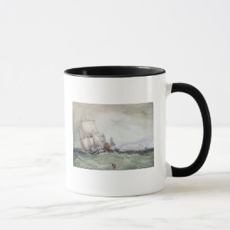 View of Scarborough, with a Collier Brig Mug