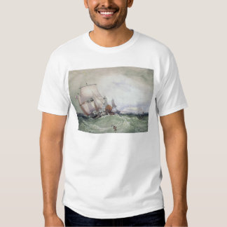 View of Scarborough, with a Collier Brig T Shirt