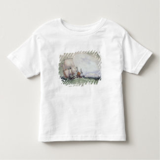 View of Scarborough, with a Collier Brig Toddler T-shirt