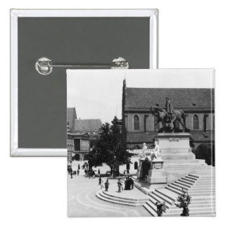 View of Schweidnitz, Breslau  Poland, c.1910 Button