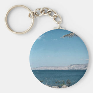 View of Sea of Galilee from south shore, Israel Key Chains