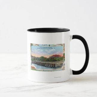View of Sewall's Bridge and Clubhouse Mug