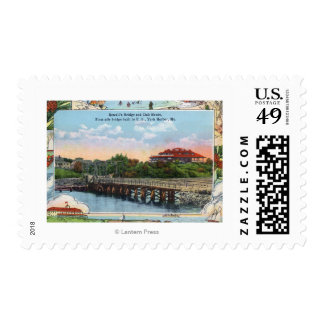 View of Sewall's Bridge and Clubhouse Postage