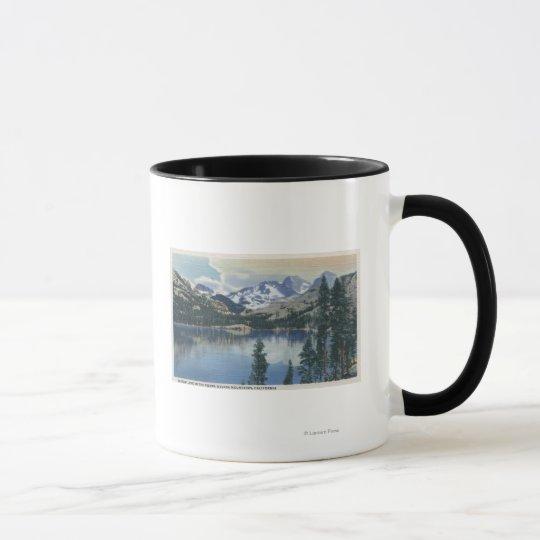 View of Shadow Lake, Sierra Nevada Mountains Mug