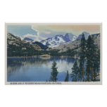 View of Shadow Lake, Sierra Nevada Mountains Posters