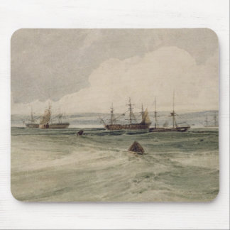 View of Sheerness (w/c over graphite on paper) Mouse Pad