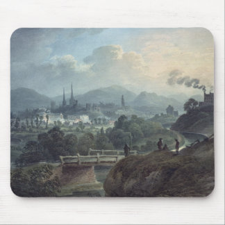 View of Shrewsbury across the Severn Mouse Pad
