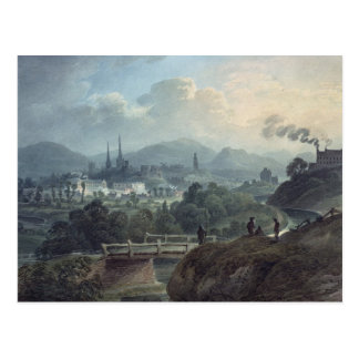 View of Shrewsbury across the Severn Post Cards