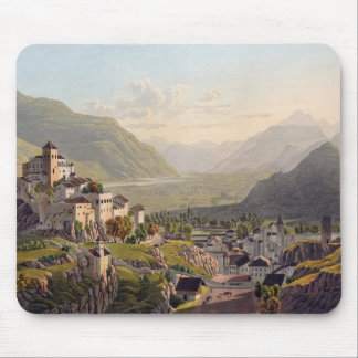 View of Sion, illustration from 'Voyage Pittoresqu Mouse Pad
