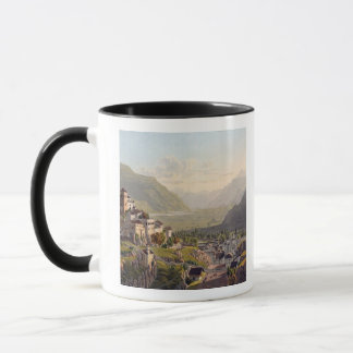View of Sion, illustration from 'Voyage Pittoresqu Mug