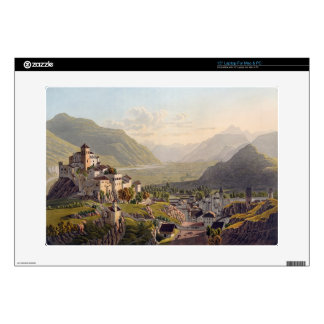 """View of Sion, illustration from 'Voyage Pittoresqu Skins For 15"""" Laptops"""
