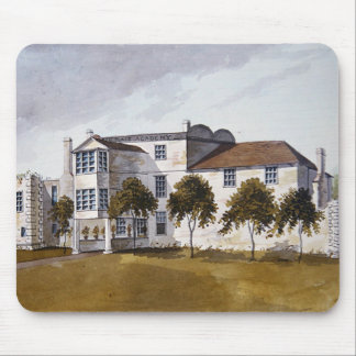 View of Sir Noel de Caron's House, 1809 Mouse Pad