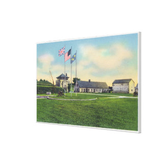 View of Sir William Johnson Council Chamber Canvas Print