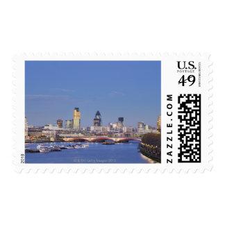 View of Skyline Postage Stamp
