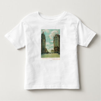 View of Skyscrapers that Survived 1906 Toddler T-shirt