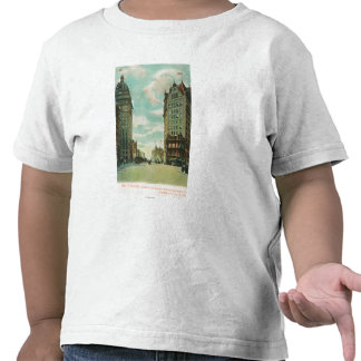 View of Skyscrapers that Survived 1906 T Shirts