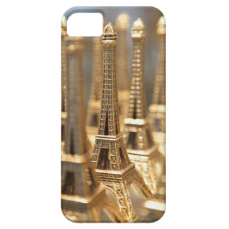 view of small eiffel towers for sale to tourists iPhone 5 cover