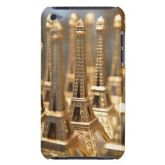 view of small eiffel towers for sale to tourists iPod Case-Mate case