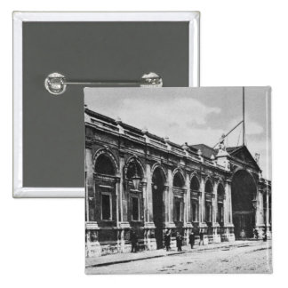 View of Smithfield Meat Market c 1905 Pinback Buttons