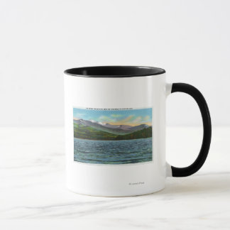 View of Snowy Mts from the Tupper Lake Road Mug