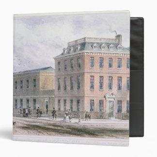 View of Soho Square and Carlisle House Binder