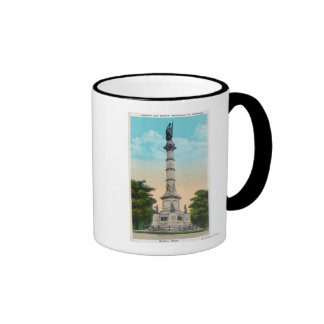 View of Soldiers and Sailors' Ringer Mug