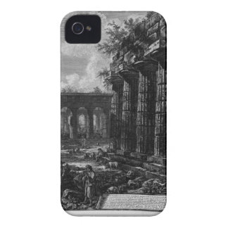 View of some columns of the facade opposite to Case-Mate iPhone 4 case