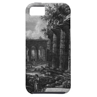 View of some columns of the facade opposite to iPhone SE/5/5s case