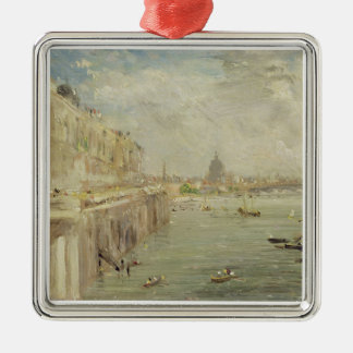 View of Somerset House Terrace and St. Paul's, fro Metal Ornament