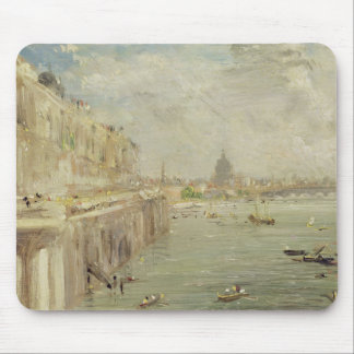 View of Somerset House Terrace and St. Paul's, fro Mouse Pad
