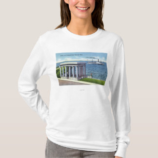 View of South Shore Steamer T-Shirt