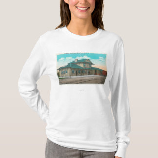 View of Southern Pacific DepotSanta Rosa, CA T-Shirt