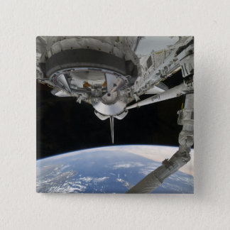 View of Space Shuttle Discovery Button
