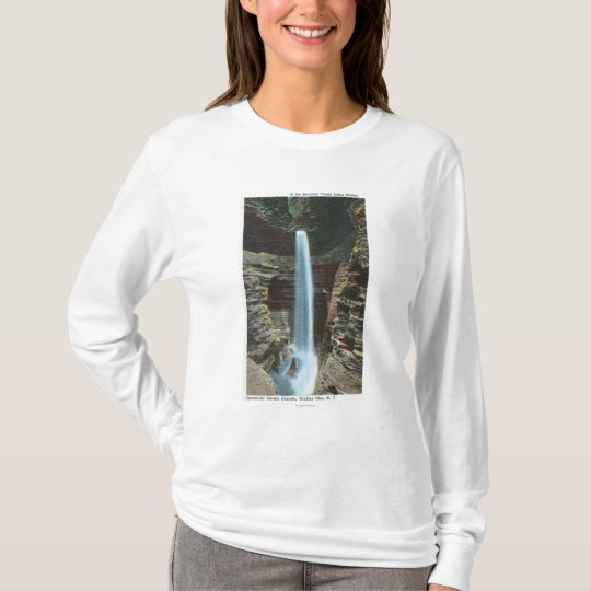 View of Spectacular Cavern Cascade T-Shirt