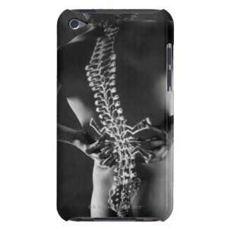 View of spinal chord iPod touch case