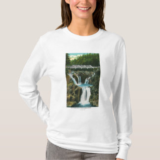 View of Split Rock Falls and Bridge T-Shirt