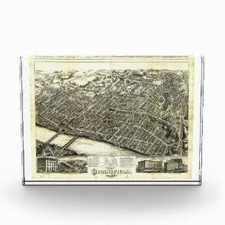 View of Springfield Massachusetts (1875) Award