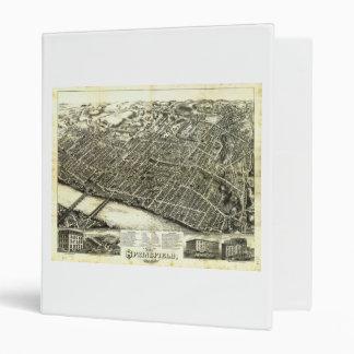 View of Springfield Massachusetts (1875) Binder