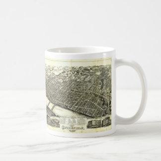 View of Springfield Massachusetts (1875) Coffee Mug