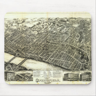 View of Springfield Massachusetts (1875) Mouse Pad