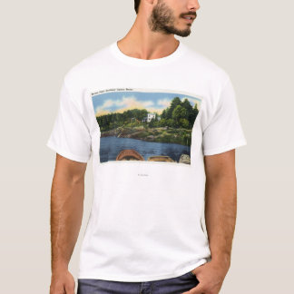 View of Spruce Point T-Shirt