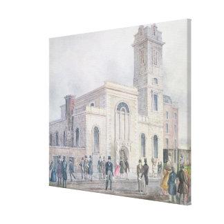 View of St. Bartholomew's Church Canvas Print